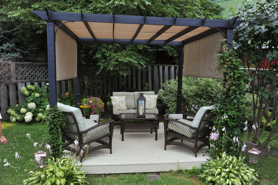 Back yard gazebo